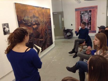 Visiting Artist Jules de Balincourt